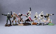 Hasbro Star Wars 1:32 Toy Soldier Figure Clone Trooper Stormtrooper Set S65toS71