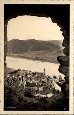 Dürnstein Niederösterreich AK ~1930/40 Stiftskirche Kirche Panorama Fluß Donau