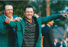 Charl Schwartzel SIGNED 12x8 Photo AFTAL Autograph COA Augusta National