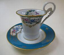 Duplessis Royal Limoges Porzellan Tasse Gedeck Limoges France perfekter Zustand!
