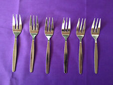 OSLO CAKE FORK PACK OF 6 CUTLERY STAINLESS STEEL NEW