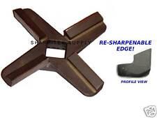 #22 RE-SHARPENABLE  Meat Grinder Knife Blade Hobart
