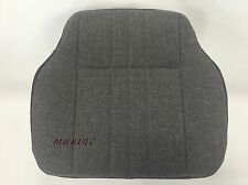 """Isuzu FVR- Driver Bottom Replacement Seat Cover-""""Grey Sherpa Cloth """""""