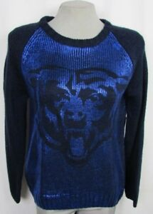 Chicago Bears NFL Touch Women's Shine-On Pullover Sweater