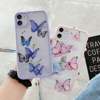 Bling Butterfly Phone Case Cover For iPhone 12 11 Pro Max XR X XS 7 8 Plus SE 2