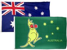 3x5 3'x5' Wholesale Combo Set Australia Australian & Kangaroo 2 Flags Flag