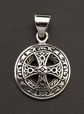Pendentif Croix solaire Celtique Irlandaise Celte Argent 925-2.9g 25932 L28
