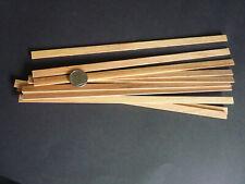 Wood Strip_Douglas Fir (2mm x 10mm x 300mm ) 10 lengths for Modeling,Craft, etc