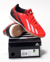 KIDS ADIDAS F10 IN ASTRO TURF TRAINERS RED SIZES INFANTS 11.5UK TO JUNIORS 5.5UK