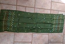 Vintage Echo silk and chinon azlon scarf stars measures 25x46 2C