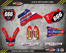Full Custom Graphic Kit Yamaha YZF 450 2009 ACTIVE STYLE decals stickers