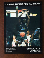 1993 Star Court King Shaquille O'Neal Rookie LSU Promo Card RC ONLY 150 MADE