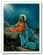 AFRICAN AMERICAN ART PRINT The Lord by Hulis Mavruk 18x24