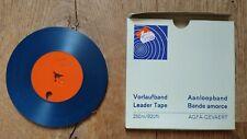 Blue AGFA GEVAERT LeaderTape, Vorlaufband Bande Amorce, 250m 820ft