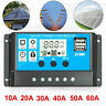 10/20/30A Amp 12V/24V Solar Panel Regulator Charge Controller Battery Dual USB