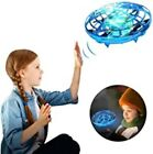 Hand Operated Mini Drone Flying Ball Toy UFO Hand Free Toy Blue