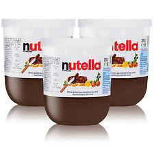 3x Ferrero Nutella Glas Brotaufstrich Schokolade 200g Frühstück Sammelglas
