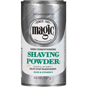 SoftSheen Carson Magic Skin Conditioning Shaving Powder 4.5 oz