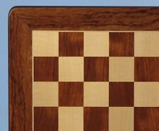 "CHESSBOARD - 20½"" - 2¼"" SQ's - PADAUK & MAPLE INLAID WOOD - CLASSIC (ww 55520pm)"