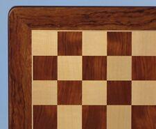 "CHESSBOARD - 20½"" - 2¼"" SQ's - PADAUK & MAPLE INLAID WOOD - CLASSIC (ww 55520pm)"