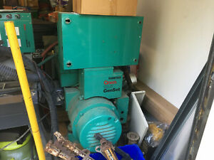 Onan Generator 12.5 KW Natural Gas Complete W/ Automatic Transfer Switch Manuals