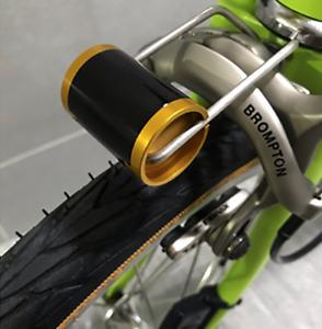 Steel Bike Headlight Mount For Brompton GOLD