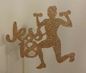 Fitness Or Gym Lover Cake Topper