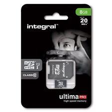 Cartes mémoire Universel microsdhc pour téléphone mobile et assistant personnel (PDA), 8 Go