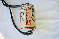 Little Earth License Plate Purse New York 1998 Vintage Americana Cross Body Bag
