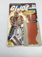 1985 GI Joe Dreadnok Buzzer Dreadnoks Full File Card Uncut Filecard Canadian