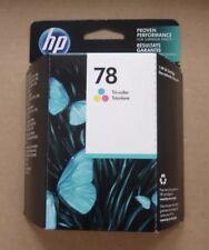 C6578DN HP GENUINE 78 Tri-color Ink Cartridge New Sealed