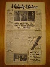 MELODY MAKER 1948 MAY 1 JAZZ JAMBOREE RAY ELLINGTON