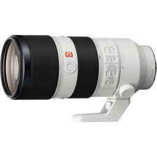 Obiettivi zoom Sony per fotografia e video Lunghezza focale 70-200mm