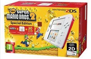 Console Nintendo 2DS - Limited Edition+custodia+gioco