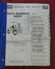 1964 1979 Clark C500 Y 70 D Series Forklift Lift Truck Parts Catalog Manual