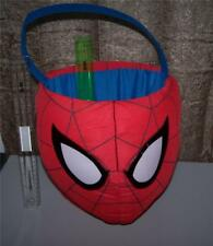 JUMBO SIZE Marvel Amazing Spider Man 2 Easter Plush Basket ~Useful Anytime  NWT