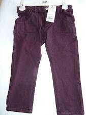 H/W 16/17 Steiff Winter violetas EXTENSIBLE Pantalón, Rojo Vino Talla 98-116