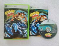 Crash of the Titans (Microsoft Xbox 360, 2007) CIB Complete TESTED