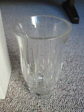 Block 24% Full Lead Crystal Vase - Hand Made in the Czech Republic