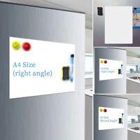 Magnétique Tableau Effaçable à Sec Flexible Message Conseils de Réfrigérateur