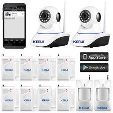 KERUI Wireless WiFi IP Camera Alarm System for Home House Burglar Security 720P
