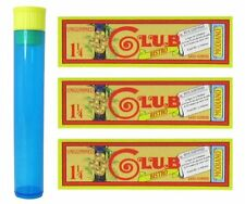 Club Modiano Bistro 1 1/4 Ungummed - 3 Packs with RPD Doob Tube