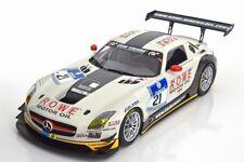 Minichamps 2013 SLS AMG GT3 ROWE RACING NURBURGRING #21 1:18*New!