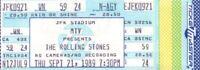 ROLLING STONES 1989 STEEL WHEELS TOUR UNUSED JFK STADIUM / PHILADELPHIA TICKET