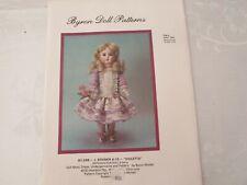 Byron Doll Patterns Violetta Fits 13 3/4 Dolls