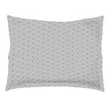 Douceur D'intérieur Zodiac Taie D'oreiller Volant plat coton Gris/blanc 50 x ...