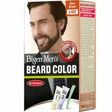 Bigen Men's Beard Color, Dark Brown B103 (20 gm + 20 gm) Free shipping world