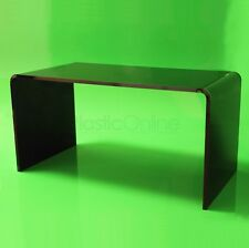 Black Acrylic Plastic Table, Coffee Table Quality 12mm Acrylic Made In The UK