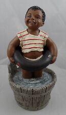 "All Gods Children ""Bean"" Martha Holcombe Figurine #39A Painted Water jdc"