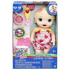 HASBRO BABY ALIVE SUPER SNACK SPUNTINO 'Lily (bionda)